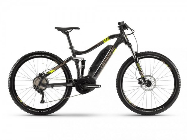 Haibike SDURO FullSeven 1.0 500Wh 10-G Deore YSS (2020), anthrazit/lime/sand, Gr. L