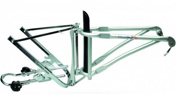 FollowMe Komplett-Set, Vorrichtung zum Anhängen von Kinderrädern